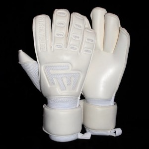 Rękawice bramkarskie FOOTBALL MASTERS White Clima Contact Grip 4mm RF