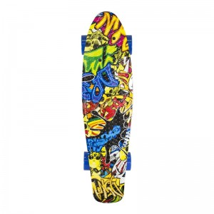 Deskorolka  fishka pennyboard ART JOKER